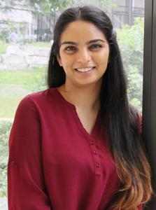Global Health student Nishila