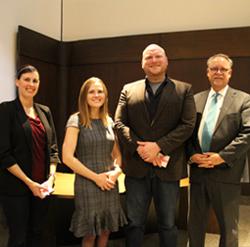Faculty of Health Award recipients