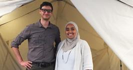 Global Health student Fatima