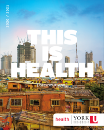 2020-2021 York University Faculty of Health Brochure